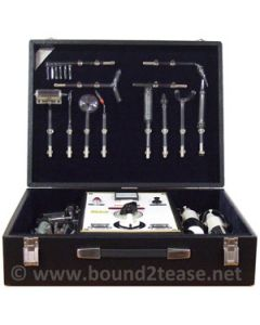Helios bestraling apparaat violet ray dual handpieces and 16 electrodes
