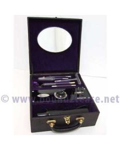 Heliosan violet wand and 5 electrodes
