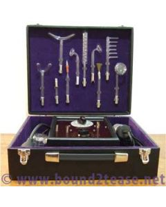 Homoflux violet wand with 12 electrodes