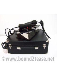 Ixu Violet Wand - Deco Chrome dual handpieces & 23 electrodes
