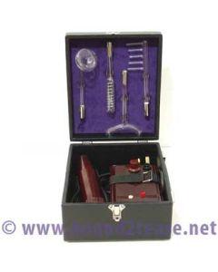 Ixu violet wand & 4 electrodes