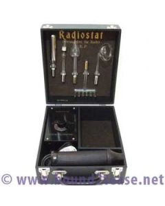 Classic Radiostat violet wand with 5 electrodes