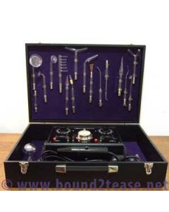 High-end lovely Holo-electron violet wand with 24 electrodes