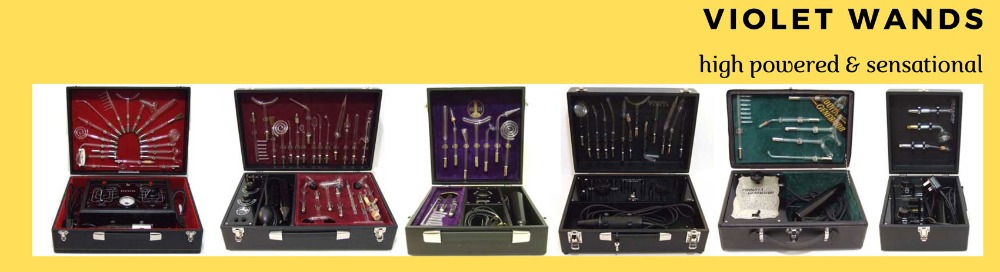 Best antique violet wand machines for sale